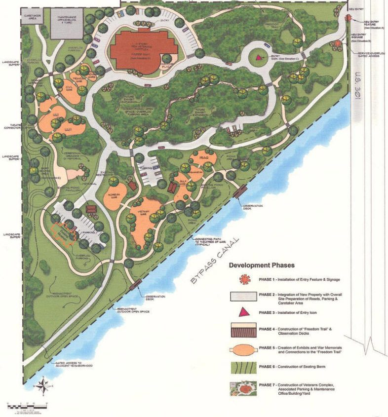 Master Plan of Military Learning Center of Tampa Bay
